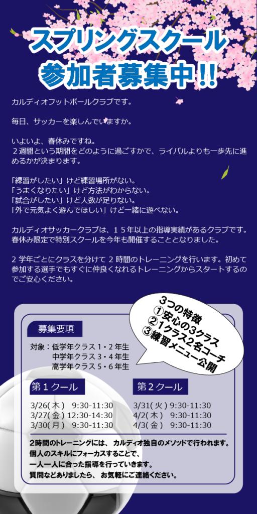 宝塚スプリングスクール
